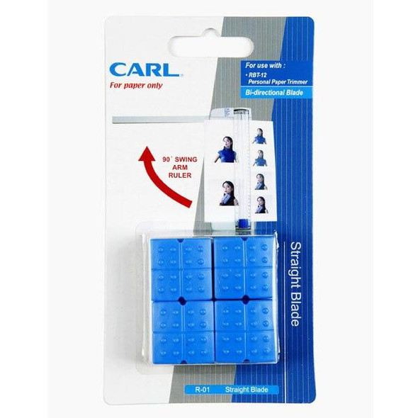CARL Trimmer Replace Blade R01 Straight 791200