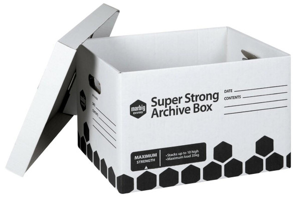 Marbig Archive Box Super Strong X CARTON of 12 80036