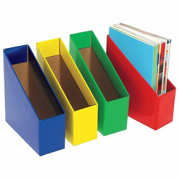 Marbig Book Box Small Yellow Pack 5 8005705