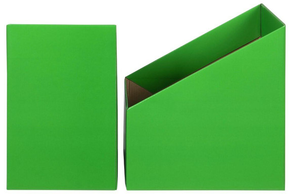 Marbig Book Box Large Green Pack 5 8005804