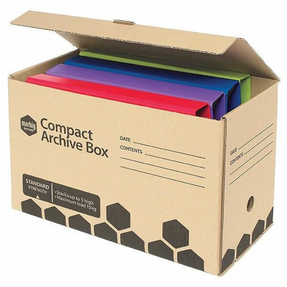 Marbig Enviro Archive Box Compact X CARTON of 5 80075