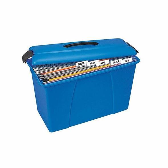Crystalfile Carry Case Blue X CARTON of 6 8008601