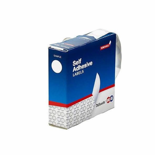 Quikstik Label Dispenser Circle 19mm White 900 Labels 80105CR