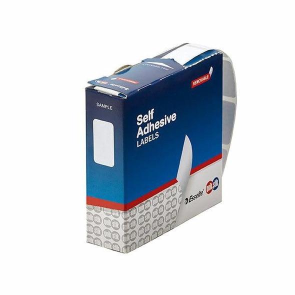 Quikstik Label Dispenser Rectangle 13x24mm White 900 Labels 80131RR