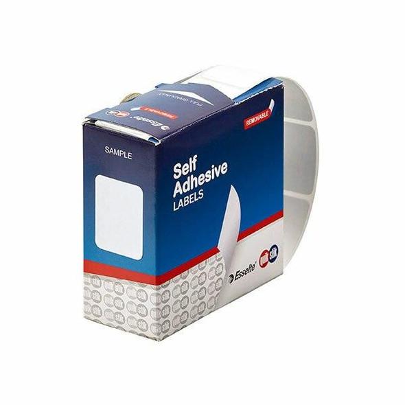 Quikstik Label Dispenser Rectangle 24x32mm White 420 Labels 80152RR