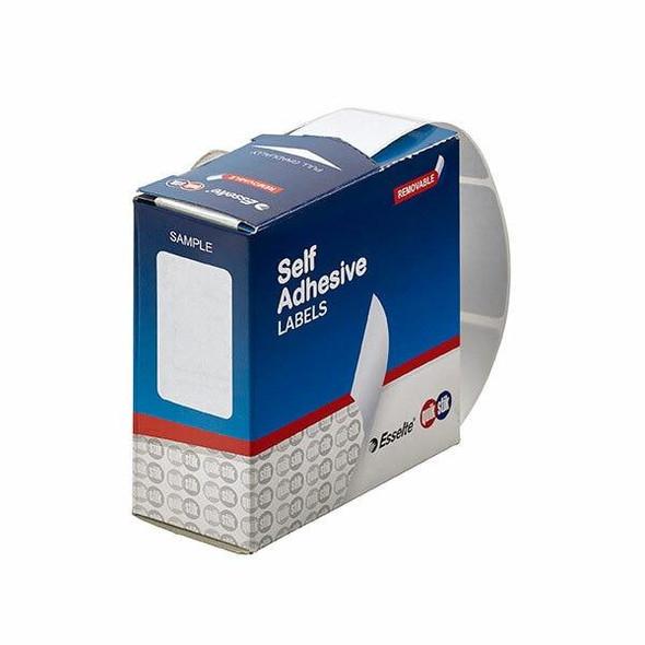 Quikstik Label Dispenser Rectangle 24x40mm White 375 Labels 80154RR