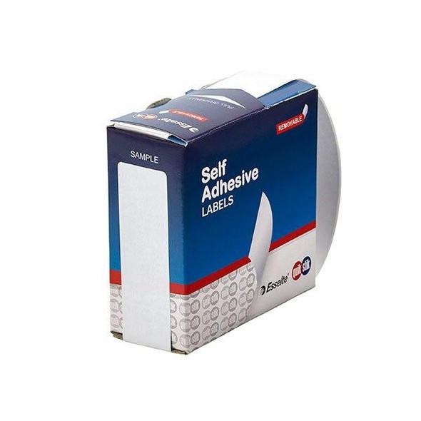 Quikstik Label Dispenser Rectangle 24x102mm White 160 Labels 80158RR