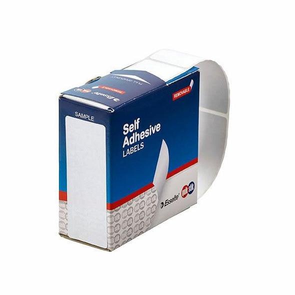 Quikstik Label Dispenser Rectangle 29x76mm White 180 Labels 80160RR