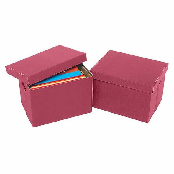 Marbig Archive Box Berry X CARTON of 10 8018103