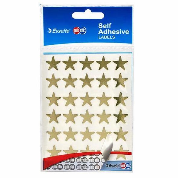 Quikstik Labels Hangsell Gold Star 150 80377PGLD