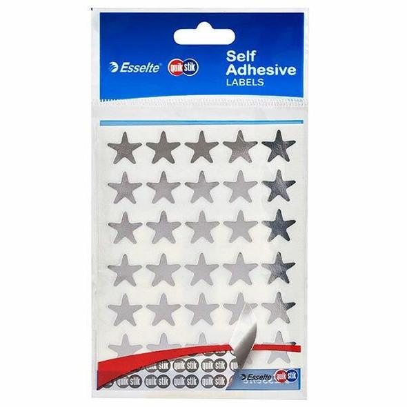 Quikstik Labels Hangsell Silver Star 150 80377PSIL