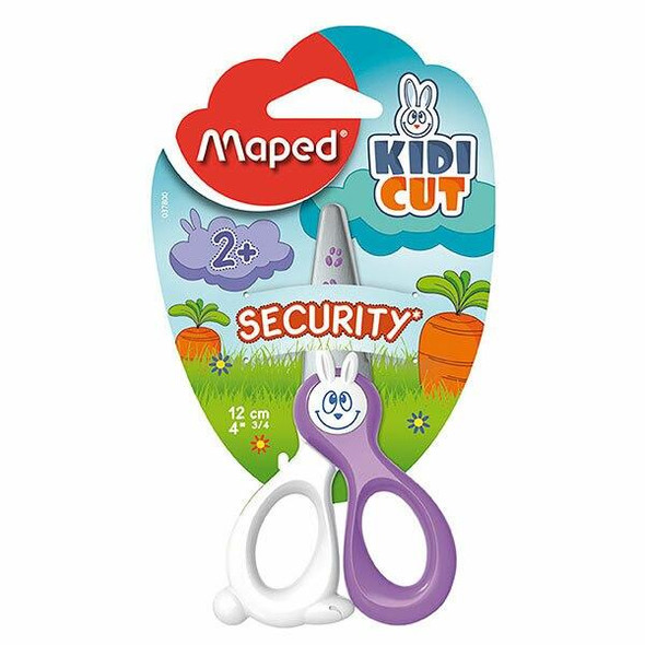 Maped Kidicut Safety Scissor 12cm 8037800