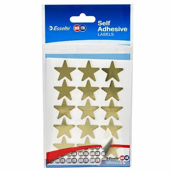 Quikstik Labels Hangsell Gold Star 60 80426PGLD