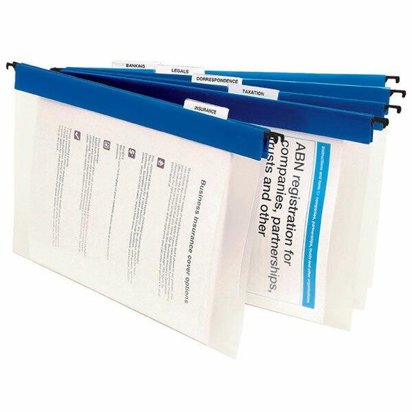 Marbig Suspension Files Complete Blue Pack10 8201301