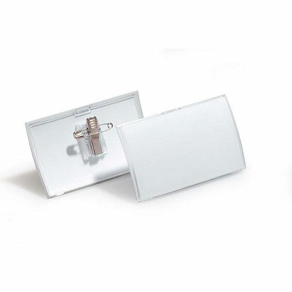 DURABLE Name Badge With Combi Clip Box25 821419