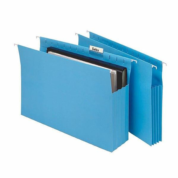 Marbig Expanding Suspension Files Complete Blue Pack20 8300001