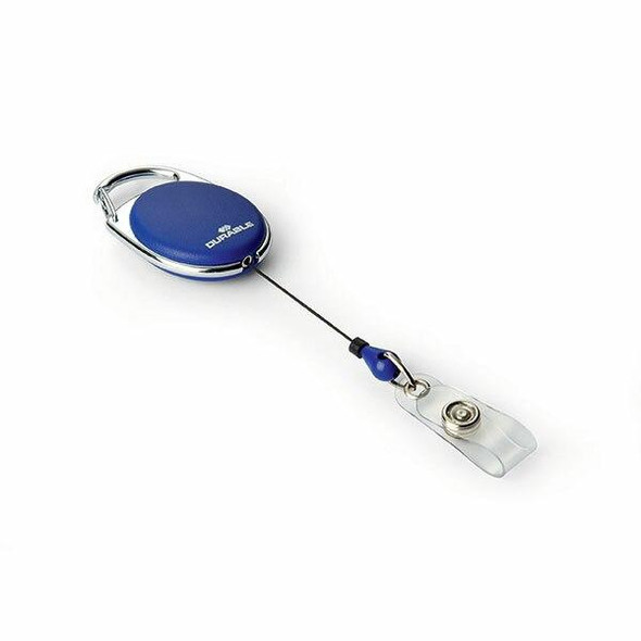 DURABLE Name Badge Reel Style 80cm Blue 832407