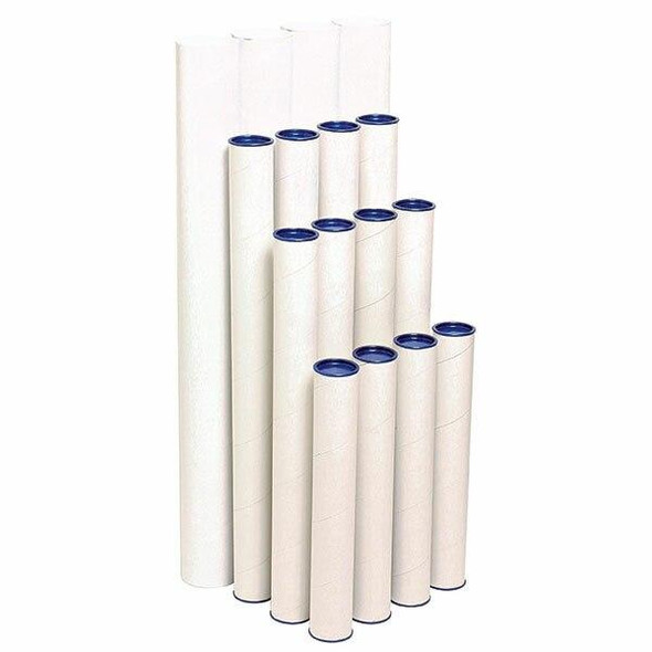 Marbig Mailing Tubes 850mm X 90mm CARTON of 4 841040A
