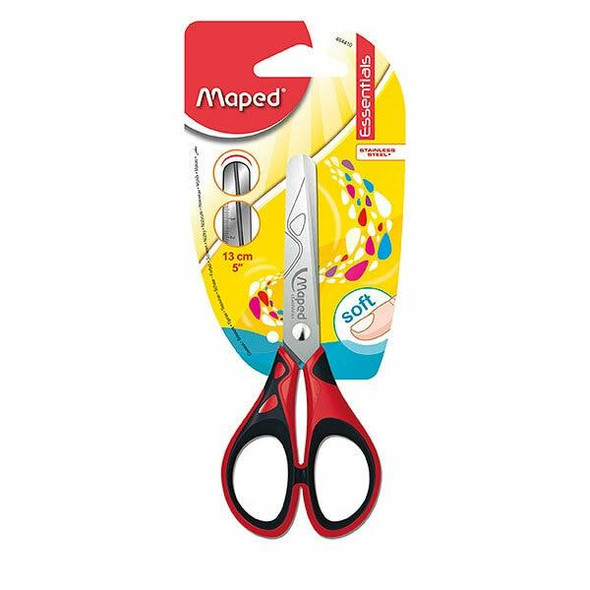 Maped Essentials Soft Scissors 13cm X CARTON of 24 8464410