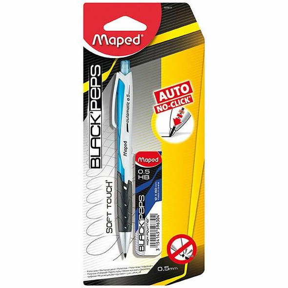 Maped Black Peps Mechanical Pencil With Refill X CARTON of 8 8559511