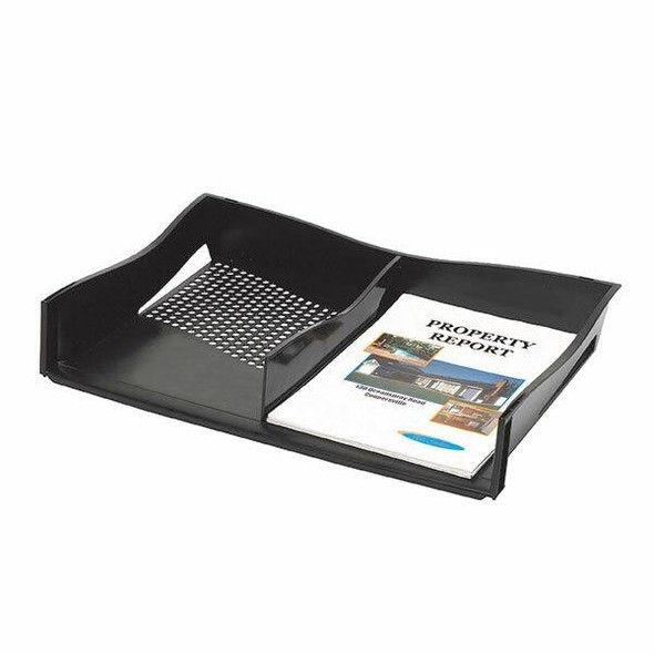 Marbig Enviro Document Tray A3 W/Divider X CARTON of 5 86610