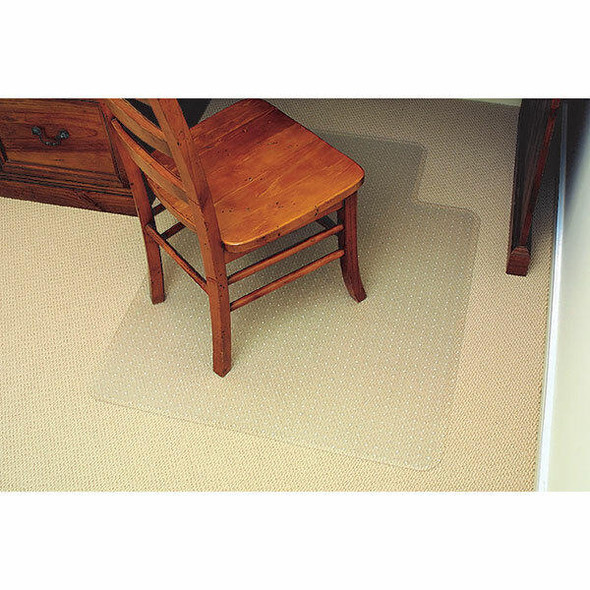Marbig Chairmat Economy Pvc Low Key 91x121cm 87440