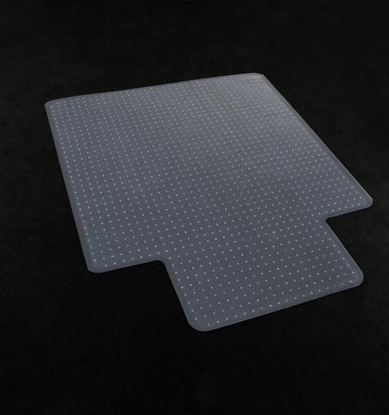 Marbig Chairmat Economy Pvc Low Key 114x134cm 87445