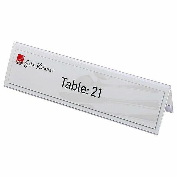 Rexel Id Large Name Plates Box25 59x210mm 90036