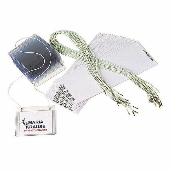 Rexel Id Hanging Badge Holder Kit Box50 90045