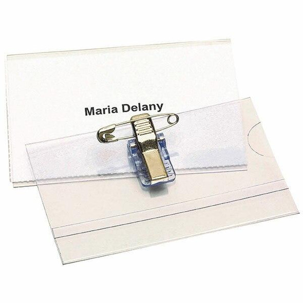 Rexel Id Convention Cardholder With Pin Box50 90050