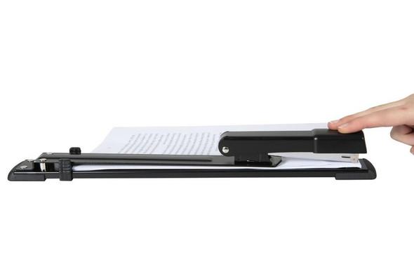 Marbig Stapler Long Arm 25 Black 90195
