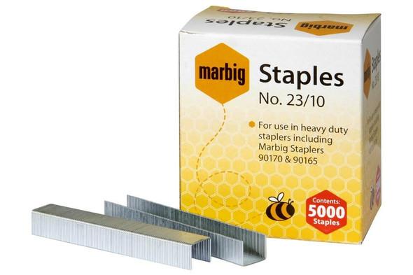 Marbig Staples 23/10mm Box5000 Heavy Duty 90210