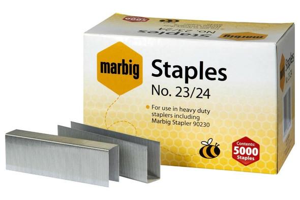 Marbig Staples 23/24mm Box5000 Heavy Duty 90224