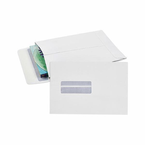 CUMBERLAND Strip Seal Expandable Envelope 150gsm 245 X 162mm White Pack25 921397