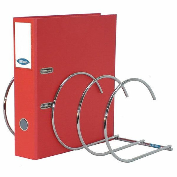 Urban Office Spiralfile Binder Rack 4 Pocket 923205