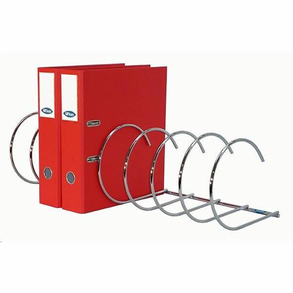 Urban Office Spiralfile Binder Rack 8 Pocket 923250
