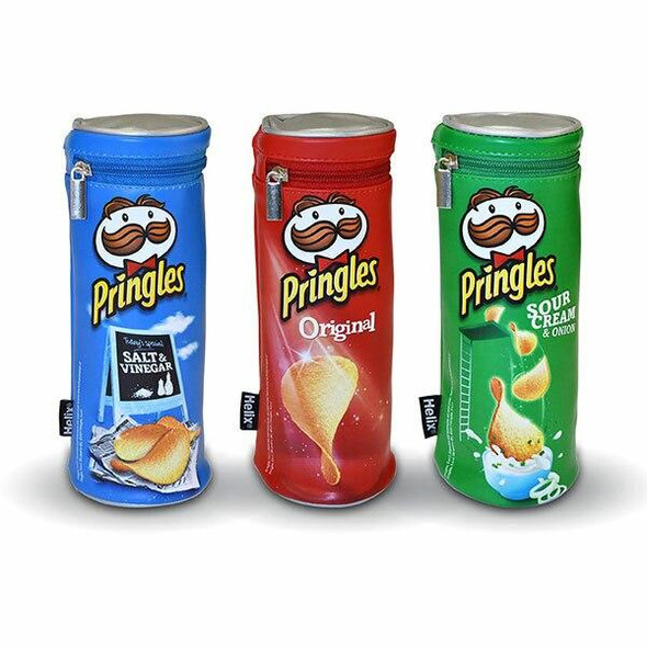 Helix Pringles Pencil Case Assorted 932510
