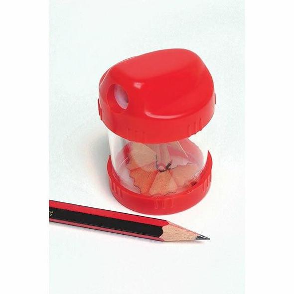 Marbig Pencil Sharpener Barrel 1hole 1h Box20 975214