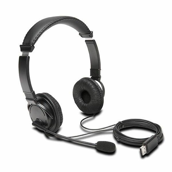 Kensington Usb-A Headphones With Micron 97601