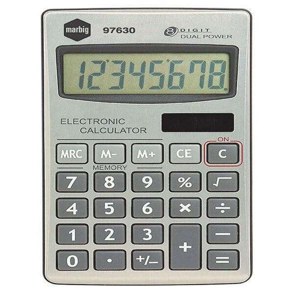 Marbig Calculator Handheld 8 Digit X CARTON of 10 97630