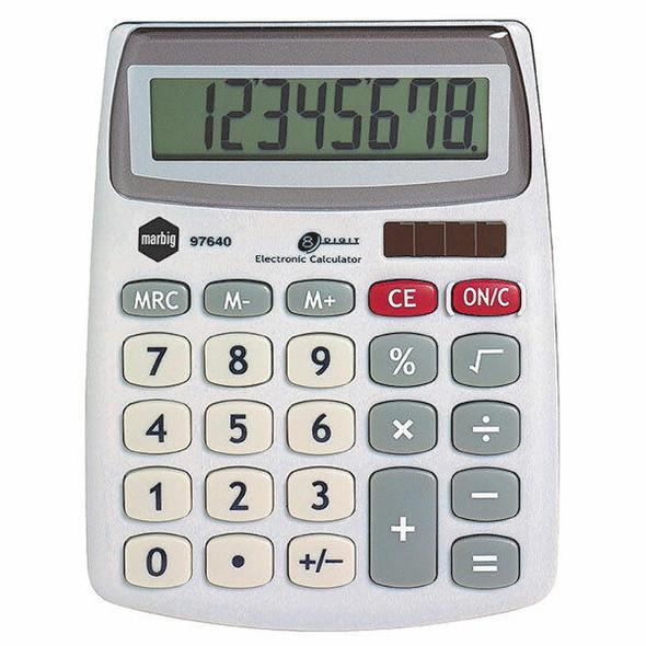 Marbig Calculator Compact Desktop 8 Digit X CARTON of 12 97640