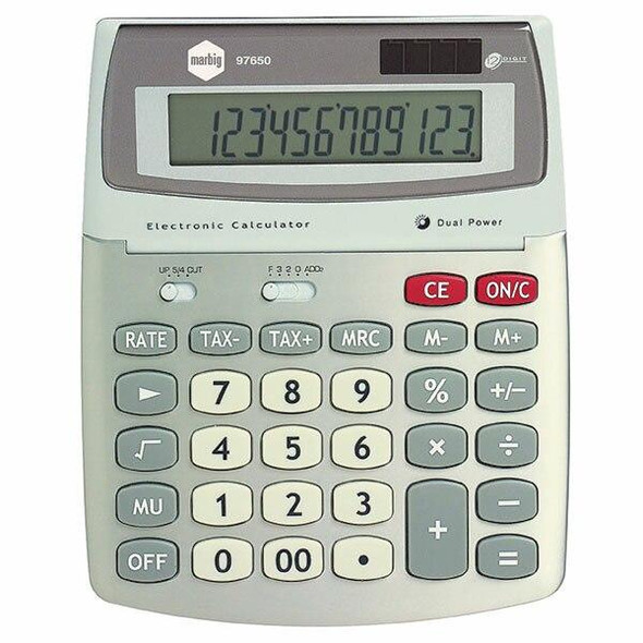 Marbig Calculator Desktop 12 Digit Gst 97650
