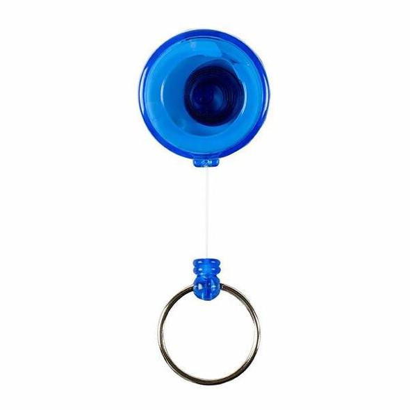 Rexel Id Mini Retractable Keyholders Blue Hangsell X CARTON of 12 9800901