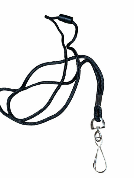 Rexel Id Cord Style Lanyards With Swivel Clip Pack10 9802002