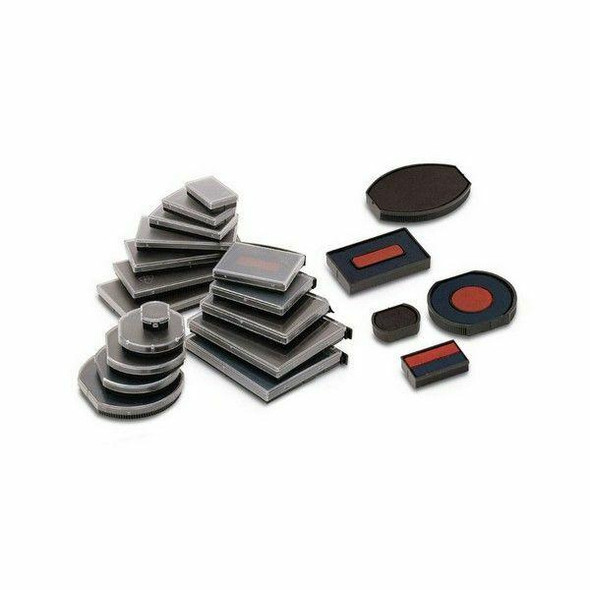 COLOP Spare Pad E/R40/2d Dater Blue/Red X CARTON of 5 981173