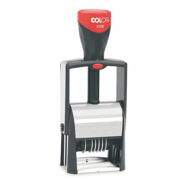 COLOP S2106 6 Band Numberer 4mm Black 983116