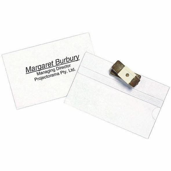 Rexel Id Magnetic Name Badge Pack10 X CARTON of 5 98600