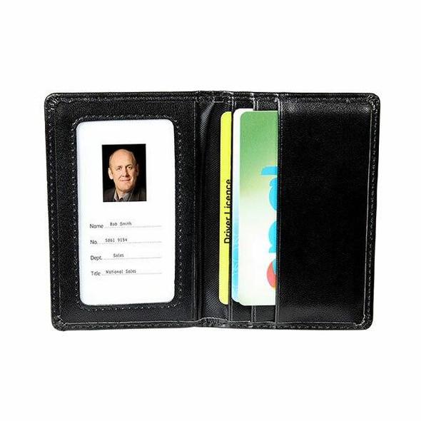 Rexel Id Card Holder Wallet Black X CARTON of 12 9865002