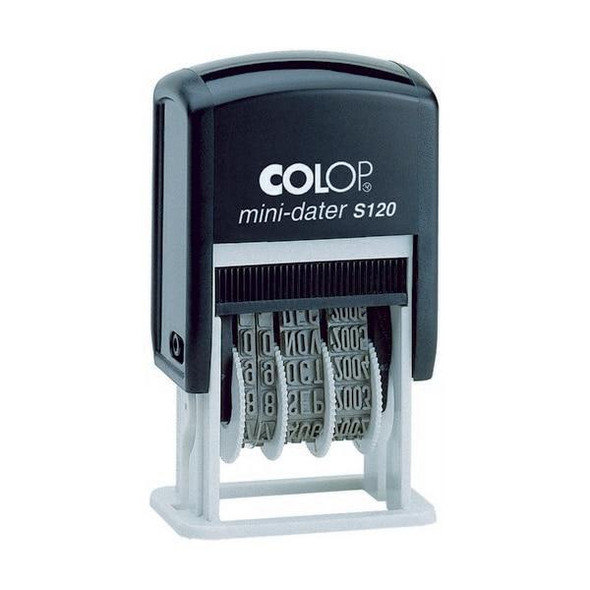 COLOP S120/B Mini Dater 4mm Black 987135
