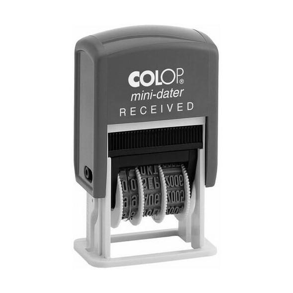 COLOP S160/L1b Mini Dater 4mm Received 987136
